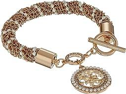 Toggle Line Bracelet w/ Stones