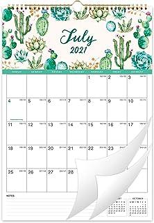 """2021 Calendar - 12 Months Wall Calendar 2021, 12"""" x 17"""", Jan 2021 -Dec 2021, Flexible with Julian Date, Colorful Monthly C..."""