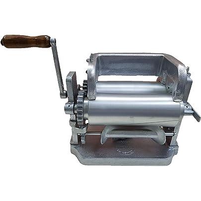 Manual Flower/Corn Aluminum Tortilla Maker Roller Press Kitchen ...