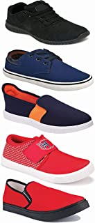 Shoefly Sports Running Shoes/Casual/Sneakers/Loafers Shoes for Men&Boys (Combo-(5)-1219-1221-1140-383-664)