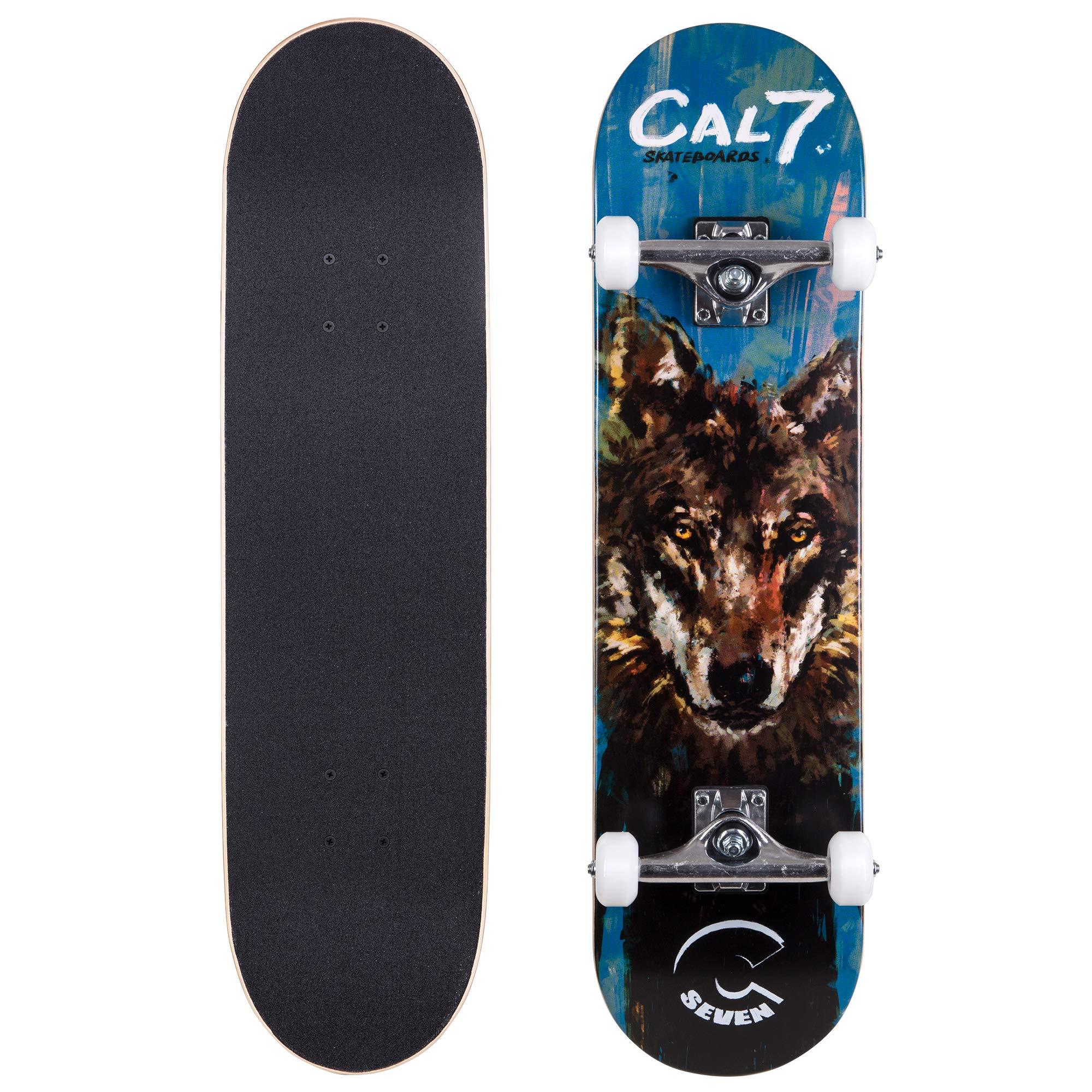 Cal Complete Skateboard Popsicle Trucks