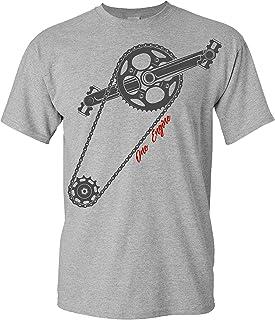 Camiseta de Bicileta: One Engine - Regalo para Ciclistas -