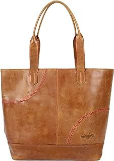 Women's Baseball Stitch Large Tote Bag