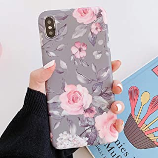 iPhone X/Xs Case,Manleno Slim Fit Full Coverage 1.5mm Shockproof Protective Matte Cover Flexible TPU Rubber Case iPhone 11...