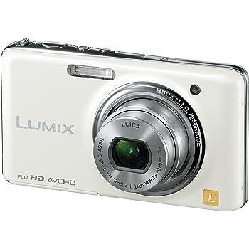 パナソニック デジタルカメラ LUMIX FX77 リリーホワイト DMC-FX77-W