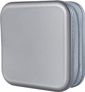 Vicoter CD Case 40 Capacity Hard Plastic CD/DVD