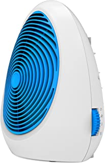 Ardes 4F02B - Calefactor (Calentador de ventilador, Piso, Mesa, Azul, Blanco, 2000 W)