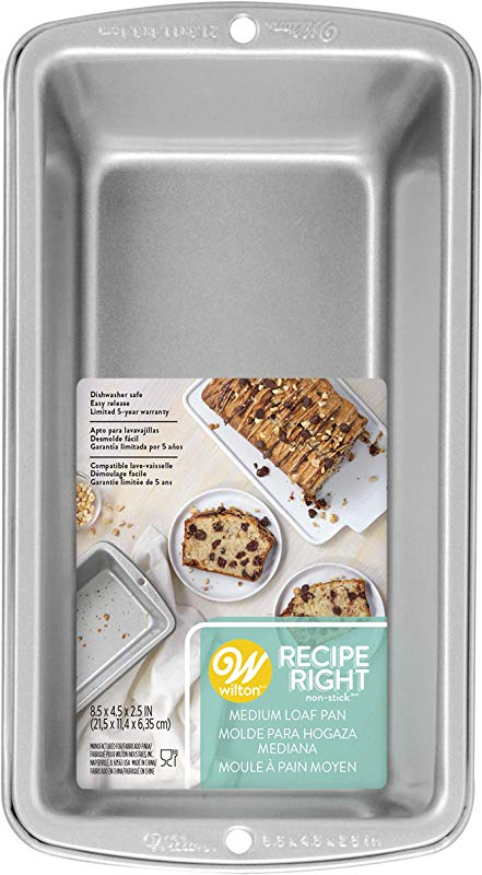 Wilton Recipe Right Medium Bread Loaf Baking Pan 8 1 2 X 4 1 2