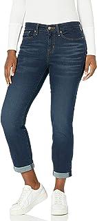 Women's Mid Rise Slim Boyfriend Jeans