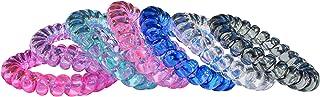 Munchables Sensory Bracelets - Coil Fidget Toys (Pinks - Set of 7)