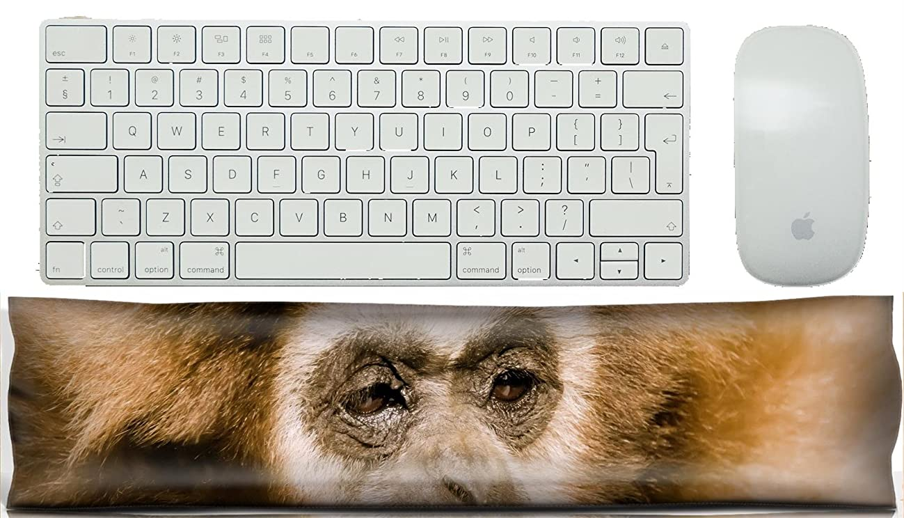 MSD Keyboard Wrist Rest Pad Office Decor Wrist Supporter Pillow IMAGE ID: 11440131 the gibbon