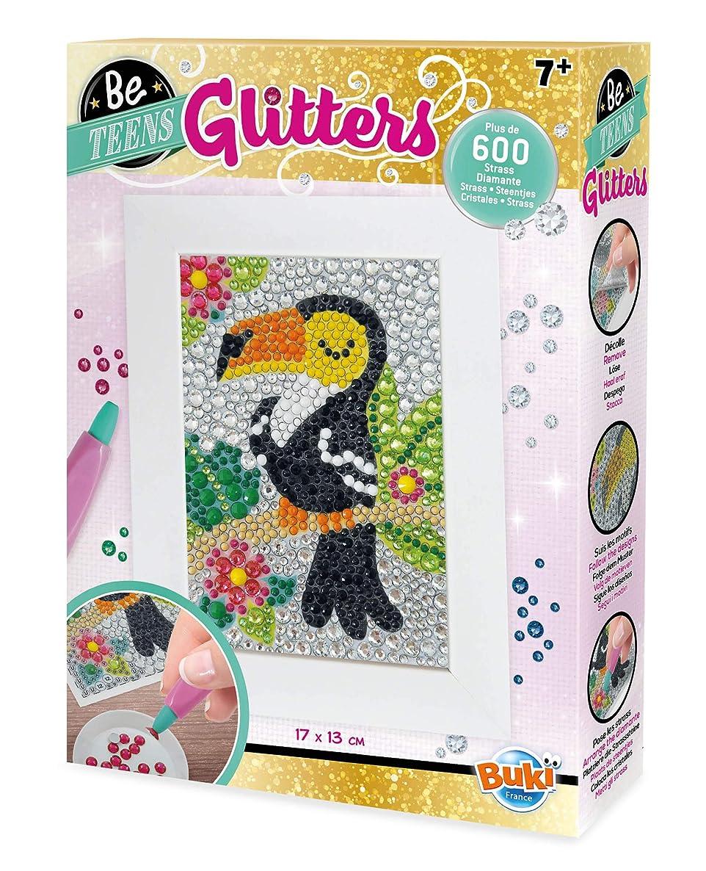 BUKI FRANCE DP004 Be Teens Glitters-Toucan
