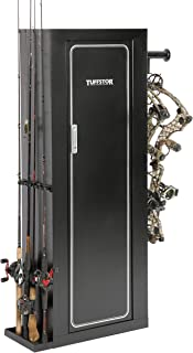 Tuff Stor Garage Storage Systems The Sportsman's Butler by Tuff Stor Model 907, Metal Security Cabinet for Guns, Archery, or Fishing