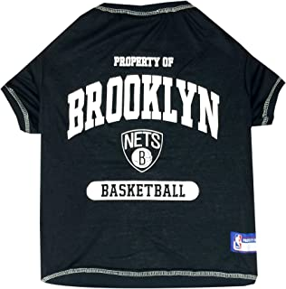 NBA BROOKLYN NETS T-Shirt for Dog, T-Shirt for cat, SIZE: Small. - A Sports Licensed Shirt for ANY OCCASION!