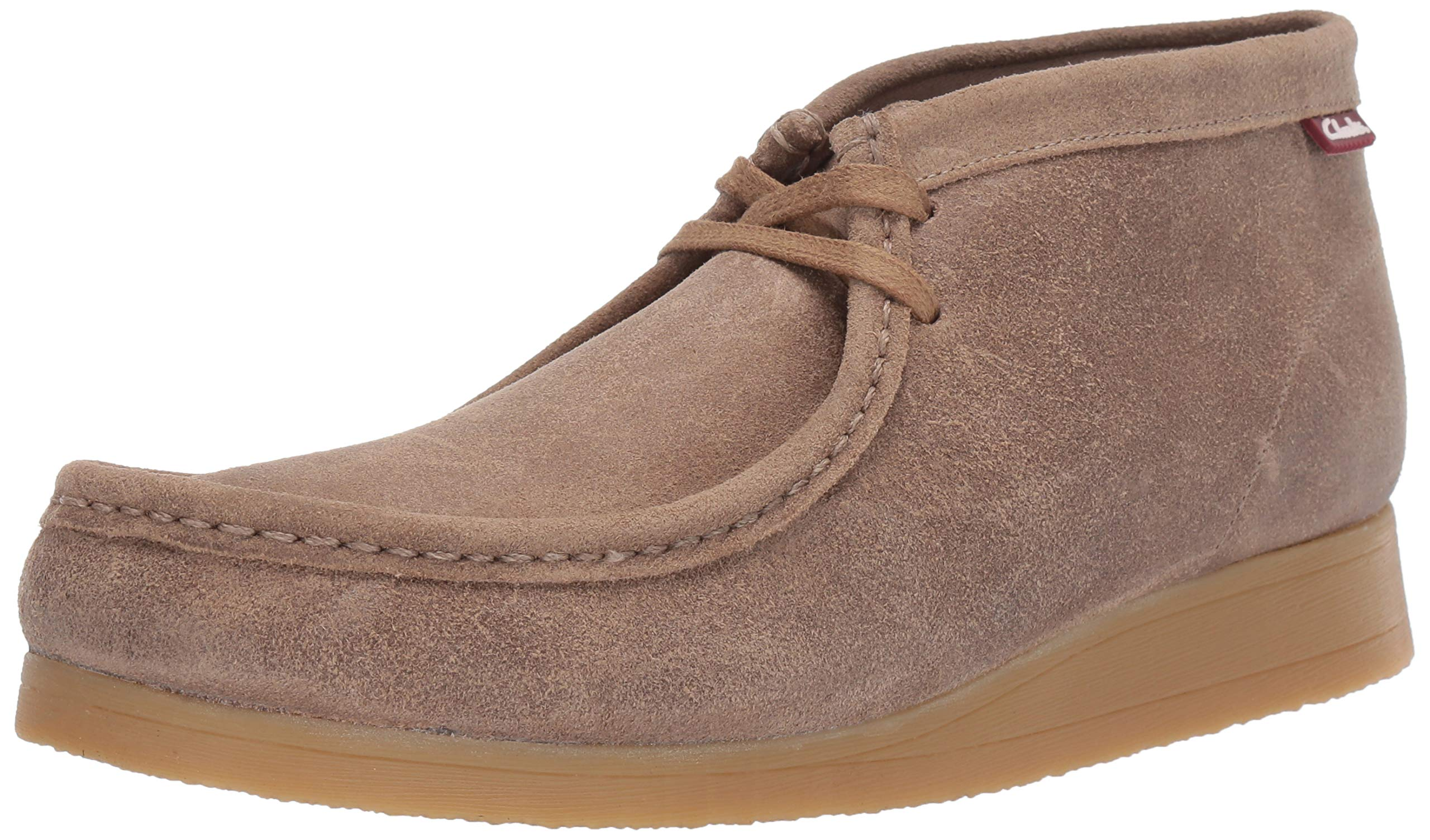 CLARKS Stinson Fashion Taupe Distressed
