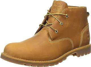 Mens Larchmont Waterproof Chukka Wheat Nubuck Leather Boots 10 US