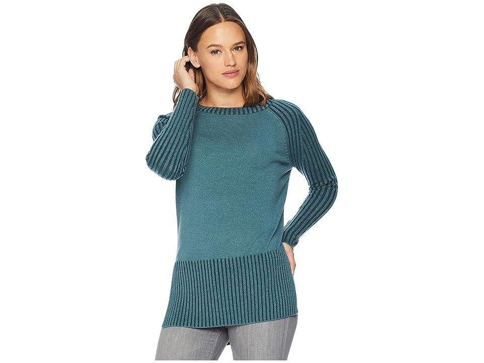 Smartwool Ripple Creek Tunic Sweater (Mediterranean Green Heather) Women