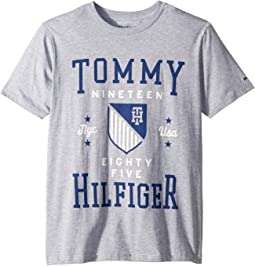 Tommy Crest Crew Neck Tee (Big Kids)