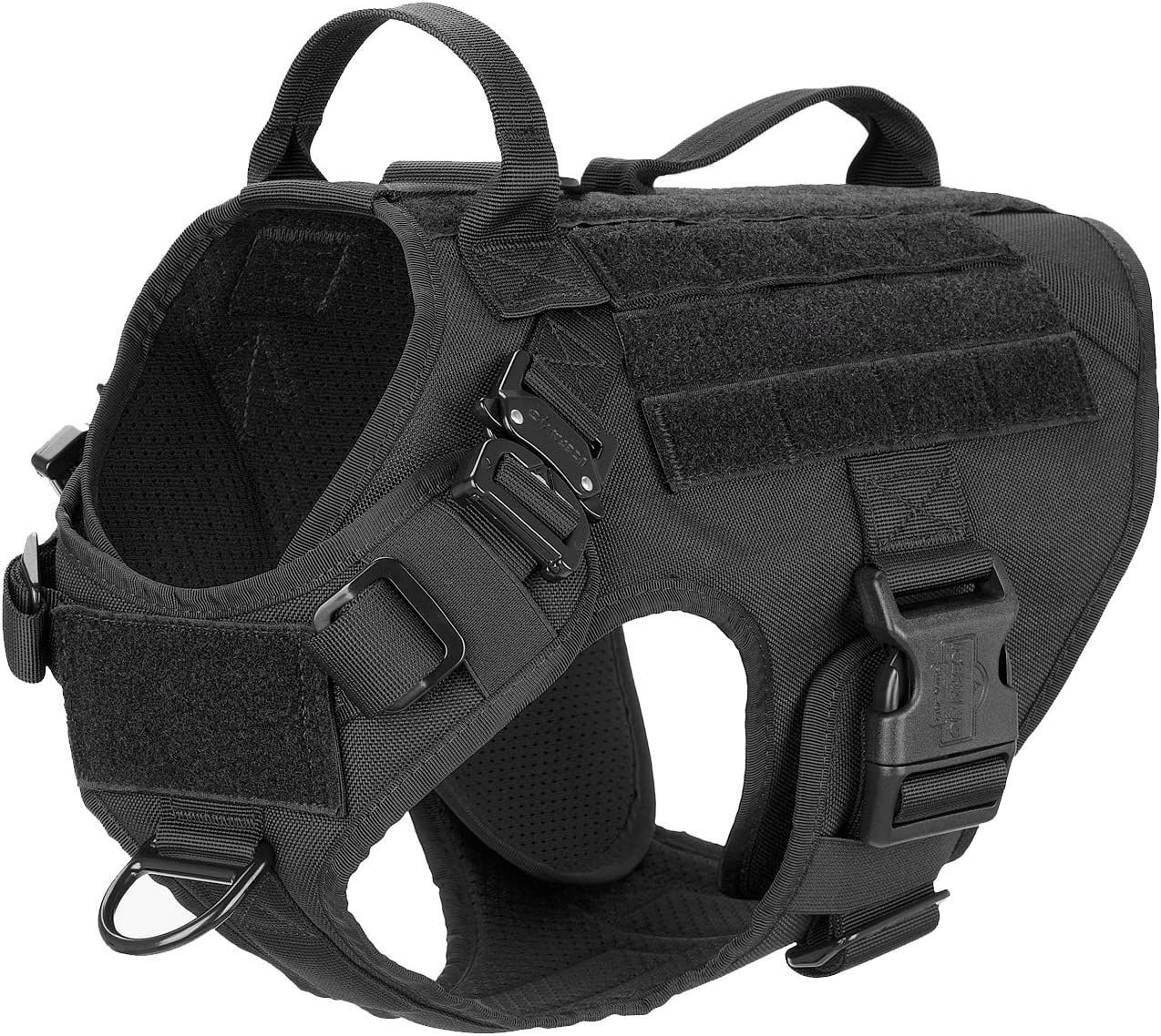 trend rank ICEFANG SEAL limited product Tactical Dog Harness 2X MOLLE N Vest Handle Working