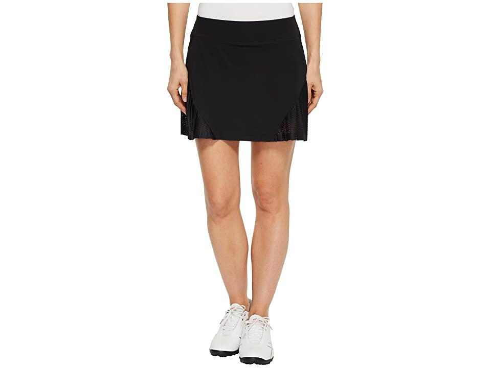Under Armour Golf Links Knit Mesh Skort (Black/Black/Black) Women