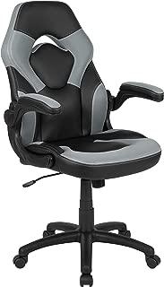 black racing chair