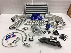 89-98 240SX S13 S14 KA24DE 2.4 T3T4 .63 Turbo Kit Intercooler BOV CAST Manifold