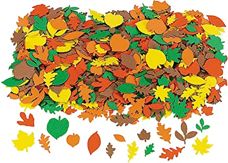 Amazon.com: Fabulous Foam Fall Adhesive Leaf Shapes - Crafts For Kids And  Fun Home Activities: Arts, Crafts & Sewing