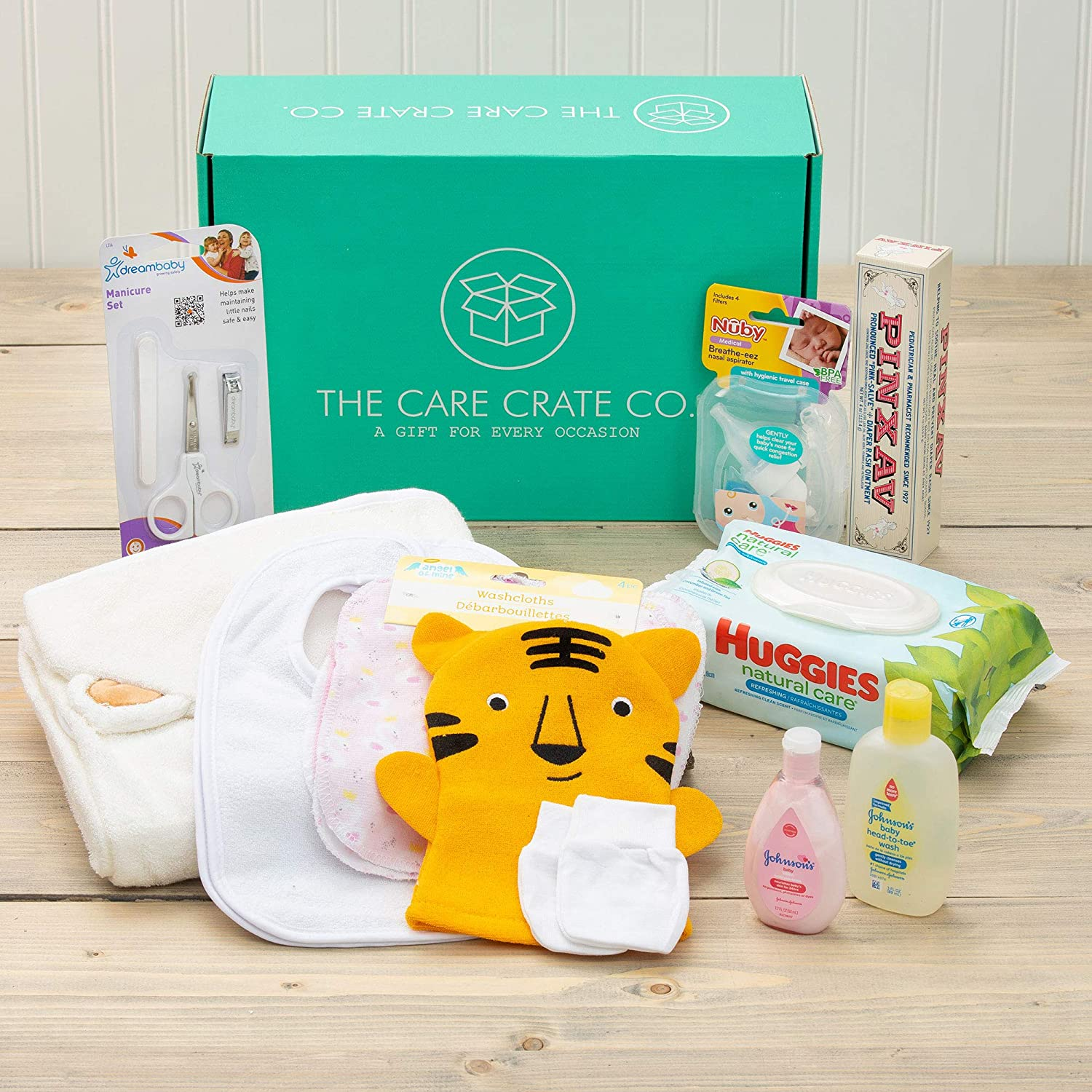 Newborn Gift Set Free Shipping New Care Package mart 12 For Showers Baby Vari