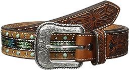 Ariat - Turquoise Ribbon Belt