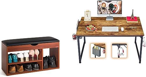 discount Mr lowest IRONSTONE Shoes Bench outlet online sale & Computer Desk online