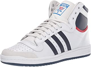 white adidas top ten hi