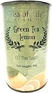 Tea of Life Green Tea Lemon 50 Tea Bags Net weight 90g