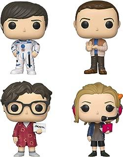 Funko TV: Pop! Big Bang Theory Series 2 Collectors Set 1 - Howard, Sheldon, Leonard, Penny