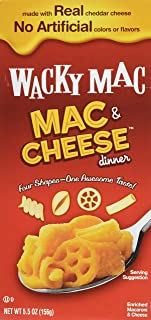Wacky Macaroni + Cheese Dinner 5.5 OZ (Pack of 4)