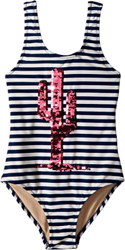 Magic Two-Way Cactus Sequins One-Piece (Toddler/Little Kids/Big Kids)