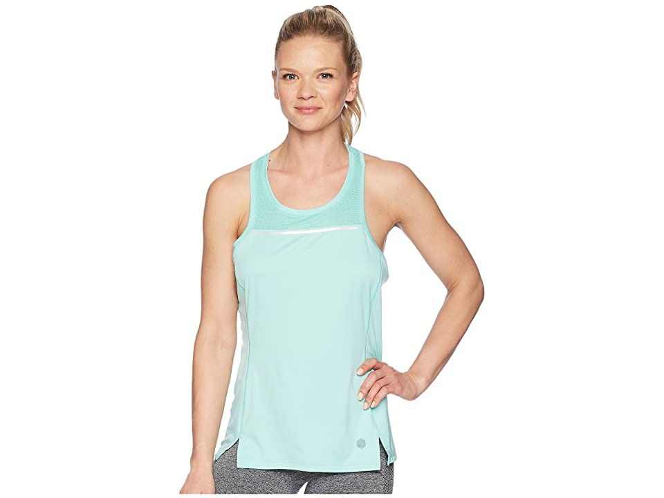 ASICS Lite-Show Tank Top (Opal Green) Women