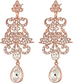 Art Nouveau Chandelier Statement Earrings