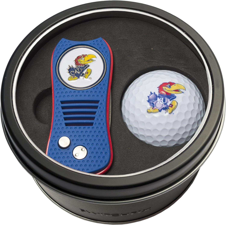 Team Golf NCAA Many popular brands Kansas Jayhawks Gift Switchblade Divot w Seattle Mall Tool Set