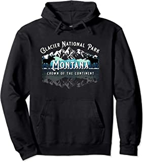 Best Glacier National Park Montana Hiking Camping Moose Souvenir Pullover Hoodie Review