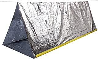 Wealers Family Pack 2 Person Emergency Survival Cold Weather Thermal Reflective Shelter Tent {Pack of 3}