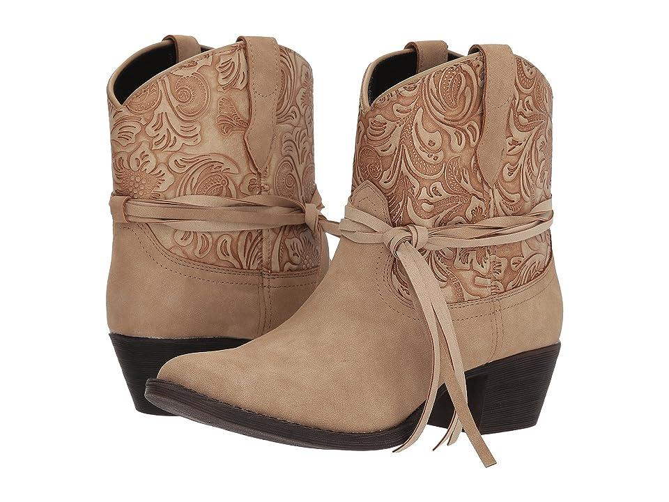 Dingo Valerie (Tan) Cowboy Boots