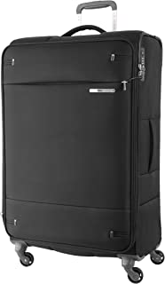 Samsonite 109258 Base Boost 2 Spinner Expandable Suitcase, Black, 78 Centimeters