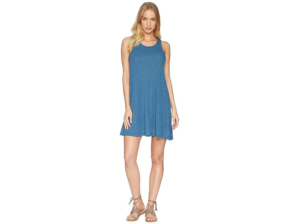 Free People LA Nite Mini Dress (Ocean Blue) Women