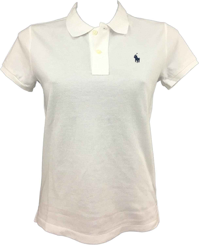 Polo Ralph Lauren Classic Fit Mesh Pony Logo Polo Shirt (L, PacificRoyal)