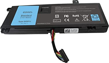 ROCKETY Compatible G05YJ Laptop Battery Replacement for Dell Alienware 14 A14 M14x R4 14D-1528 ALW14D-5528 ALW14D-1528 14D-5528 0G05YJ ALW14D 8X70T Y3PN0 Notebook Batteries(11.1V 69Wh).