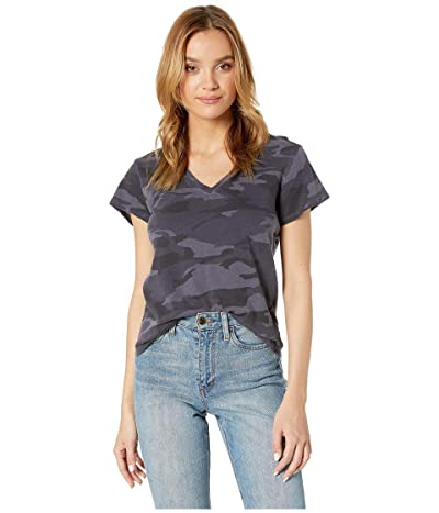 Splendid Katie Camo V-Neck Women