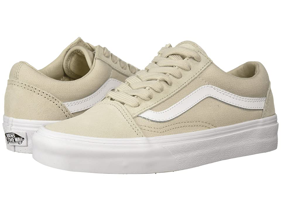 Vans Old Skooltm ((Suiting) Silver Lining/True White) Skate Shoes