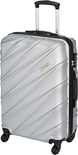 United Colors of Benetton Roadster Hardcase Luggage ABS 68 cms Silver Grey Hardsided Check-in Luggage (0IP6HAB24B02I)