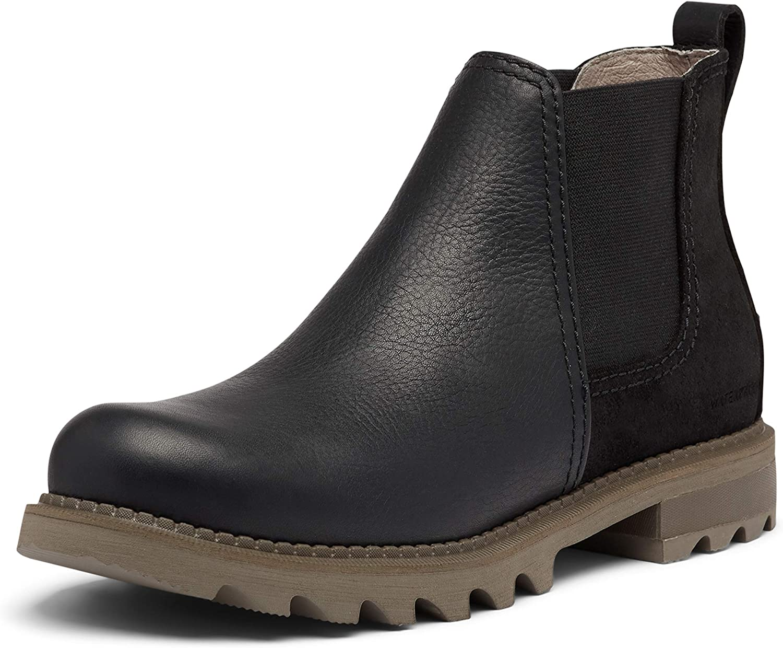 Sorel Men's Ranking TOP4 Mad Brick Chelsea WP Rain - Popularity Waterproof Boot