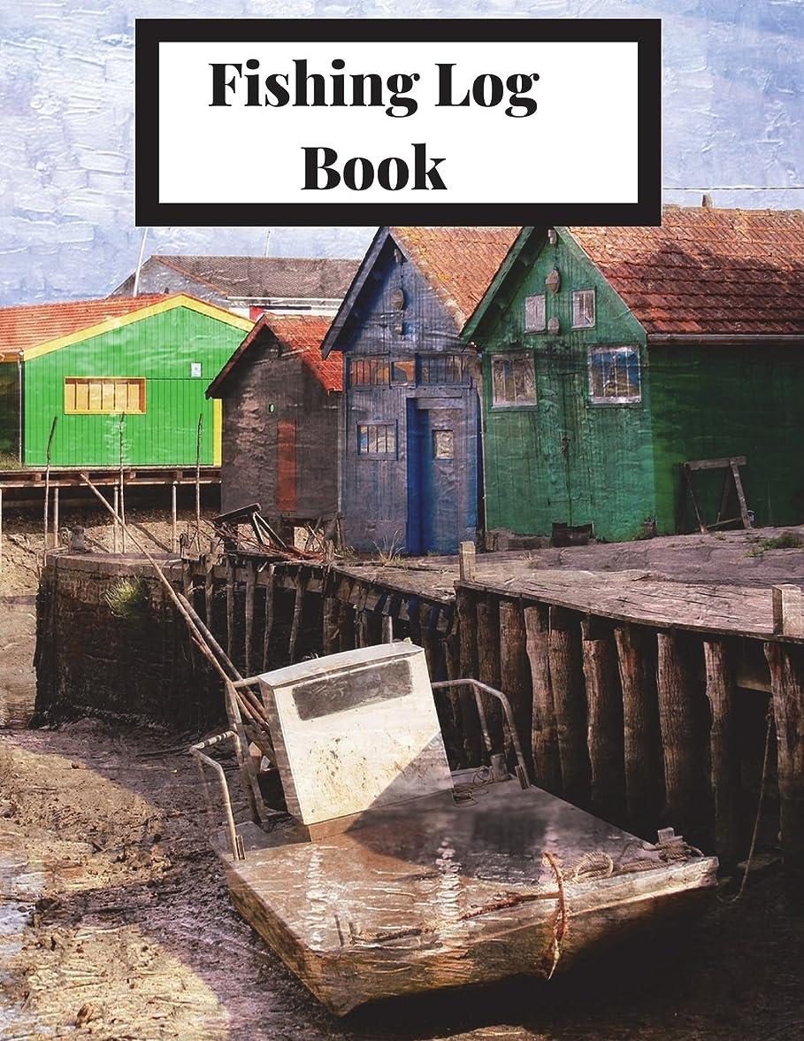 硬いしかしながら吹雪Fishing Log Book: The Complete Fisherman's Journal with Prompts, Records of Fishing Trips and More. Fly Fishing Log Book, Fishing Notebook, 8.5 x11, 216 pages. Cabin Theme